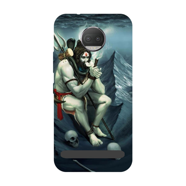 Aghori- Printed Hard Back Case Cover for Moto Z3 Play-Hamee India