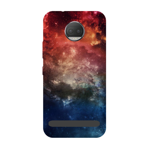 Space- Printed Hard Back Case Cover for Moto Z3 Play-Hamee India