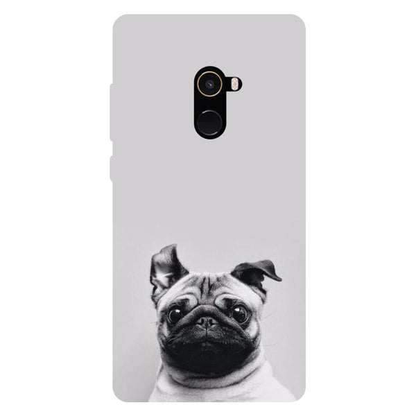 Pug - Hard Back Case Cover for Xiaomi Mi Mix 2-Hamee India