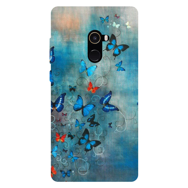 Butterflies - Hard Back Case Cover for Xiaomi Mi Mix 2-Hamee India