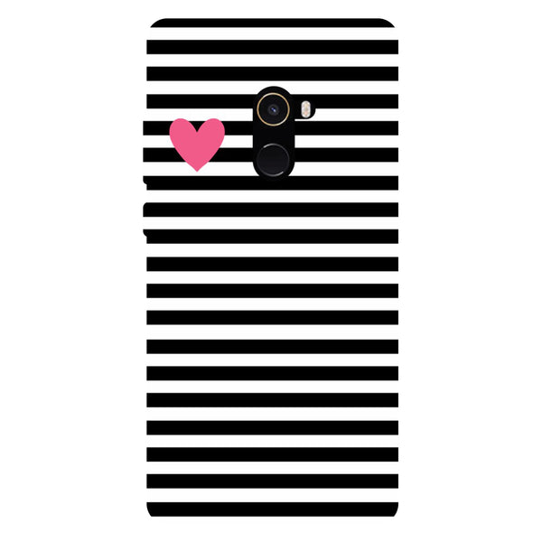Love Strips - Hard Back Case Cover for Xiaomi Mi Mix 2-Hamee India