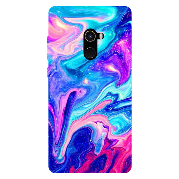Oil Paint - Hard Back Case Cover for Xiaomi Mi Mix 2-Hamee India