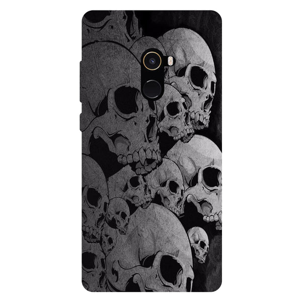 Skulls - Hard Back Case Cover for Xiaomi Mi Mix 2-Hamee India