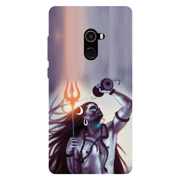 Mahadev - Hard Back Case Cover for Xiaomi Mi Mix 2-Hamee India
