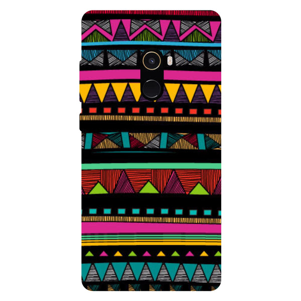 Tribal Pattern - Hard Back Case Cover for Xiaomi Mi Mix 2-Hamee India