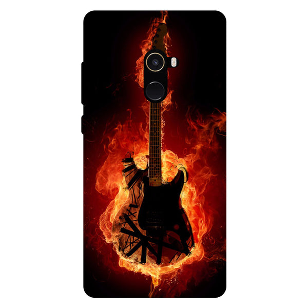 Guitar - Hard Back Case Cover for Xiaomi Mi Mix 2-Hamee India