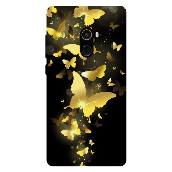 Golden Flies - Hard Back Case Cover for Xiaomi Mi Mix 2-Hamee India