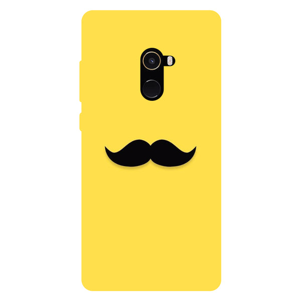 Mustache - Hard Back Case Cover for Xiaomi Mi Mix 2-Hamee India