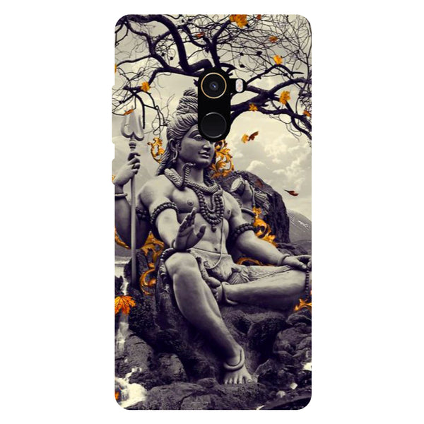 Lord Shiva - Hard Back Case Cover for Xiaomi Mi Mix 2-Hamee India