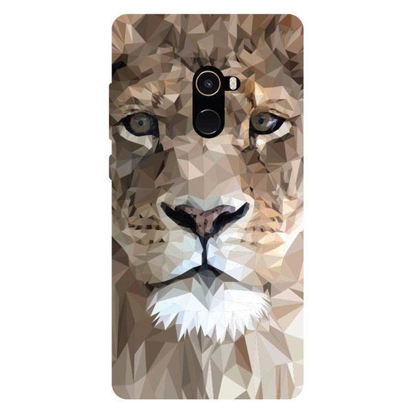 Lion Pixels - Hard Back Case Cover for Xiaomi Mi Mix 2-Hamee India
