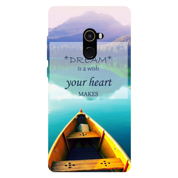 Dream - Hard Back Case Cover for Xiaomi Mi Mix 2-Hamee India
