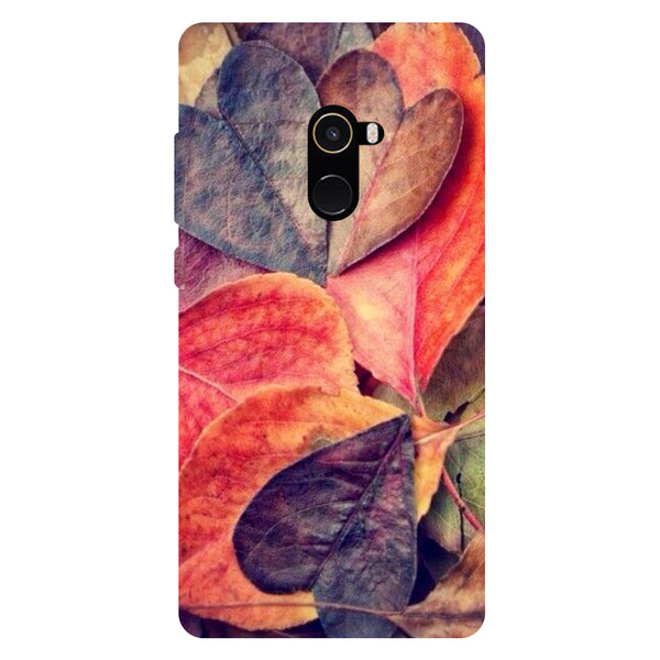 Heart Leaf - Hard Back Case Cover for Xiaomi Mi Mix 2-Hamee India