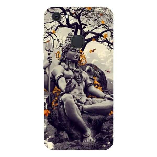 Lord Shiva - Hard Back Case Cover for Vivo V7 Plus-Hamee India