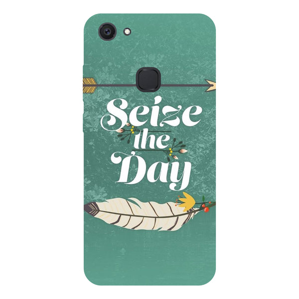 Seize the Day - Hard Back Case Cover for Vivo V7 Plus-Hamee India