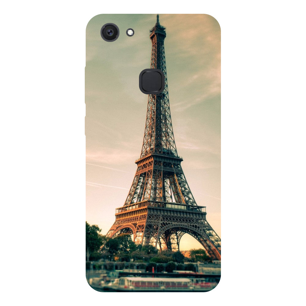 Eiffel Tower - Hard Back Case Cover for Vivo V7 Plus-Hamee India