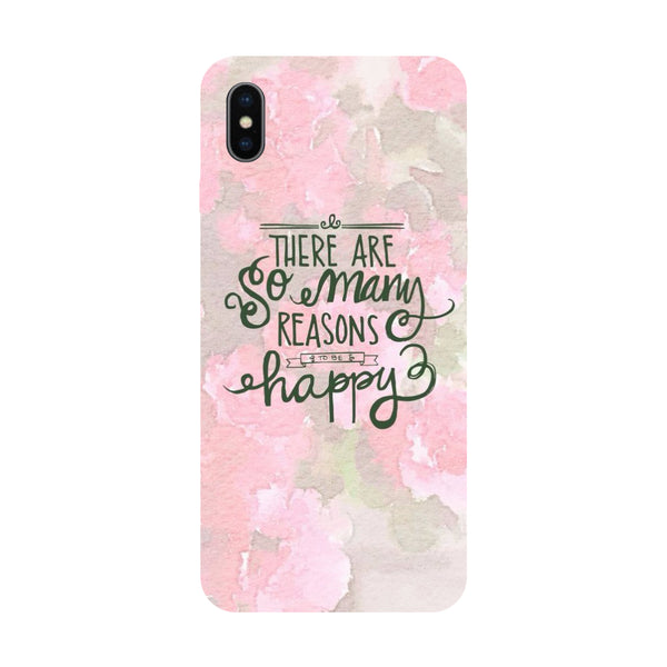 Hamee - Just be Free - Designer Printed Hard Back Case Cover for Apple iPhone X