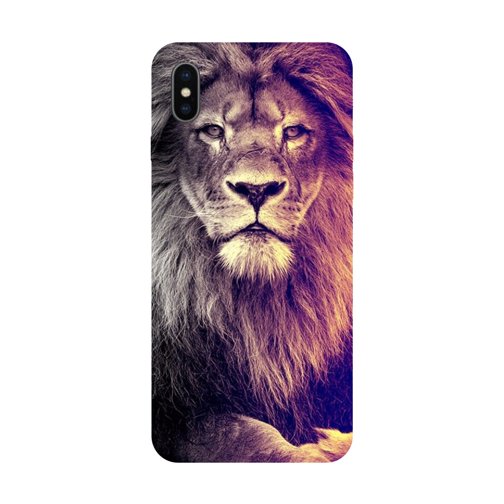 Lion King - Hard Back Case Cover for Apple iPhone X-Hamee India