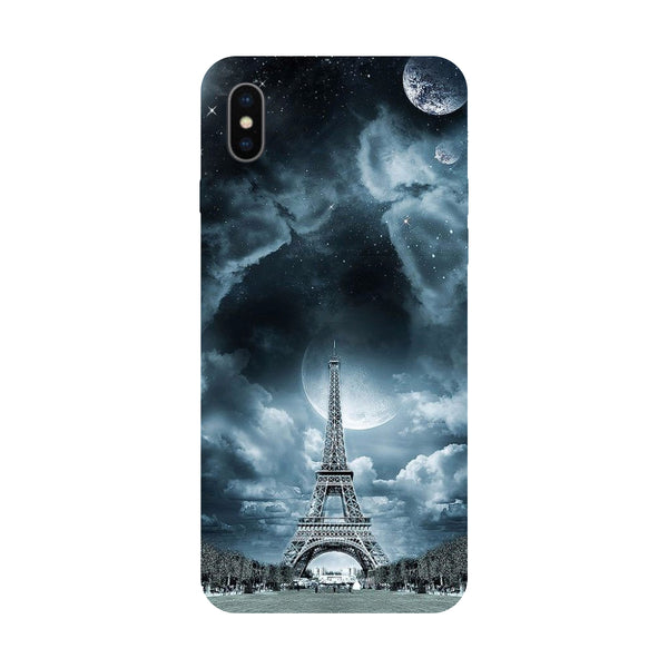 Night in Paris - Hard Back Case Cover for Apple iPhone X-Hamee India