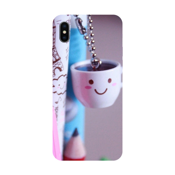 Cups - Hard Back Case Cover for Apple iPhone X-Hamee India