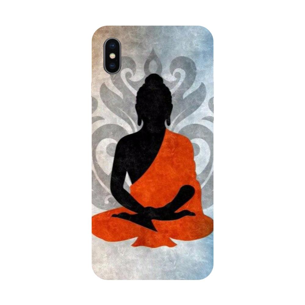 Meditation - Hard Back Case Cover for Apple iPhone X-Hamee India