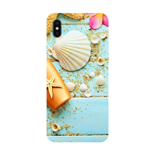 Shells - Hard Back Case Cover for Apple iPhone X-Hamee India
