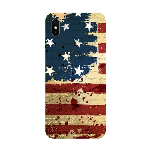 USA - Hard Back Case Cover for Apple iPhone X-Hamee India