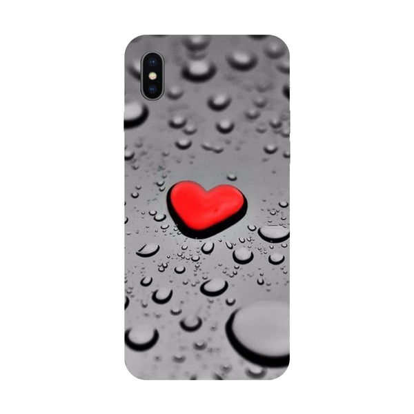 Hearts - Hard Back Case Cover for Apple iPhone X-Hamee India