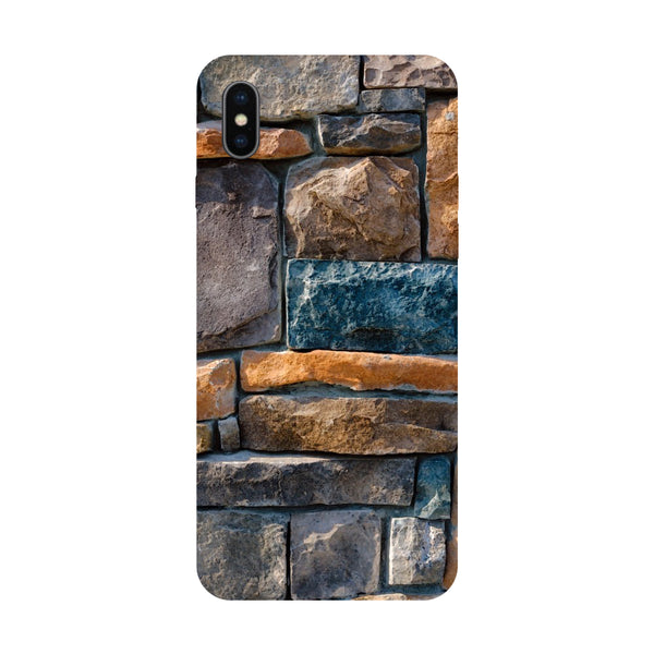Stones - Hard Back Case Cover for Apple iPhone X-Hamee India