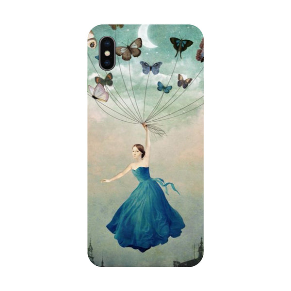 Butterflies - Hard Back Case Cover for Apple iPhone X-Hamee India