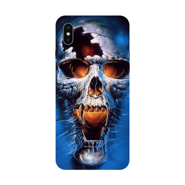 Skull - Hard Back Case Cover for Apple iPhone X-Hamee India