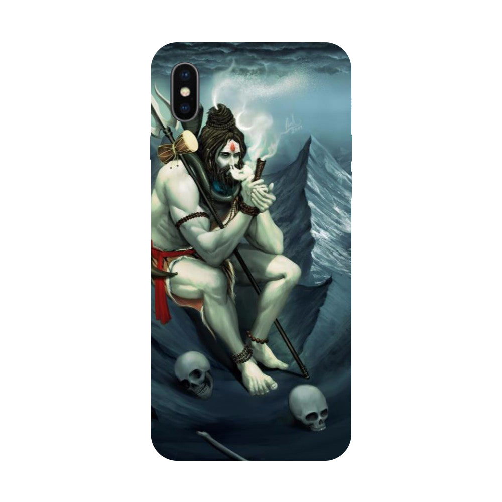Himalyan Abode - Hard Back Case Cover for Apple iPhone X-Hamee India