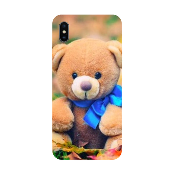 Teddy - Hard Back Case Cover for Apple iPhone X-Hamee India