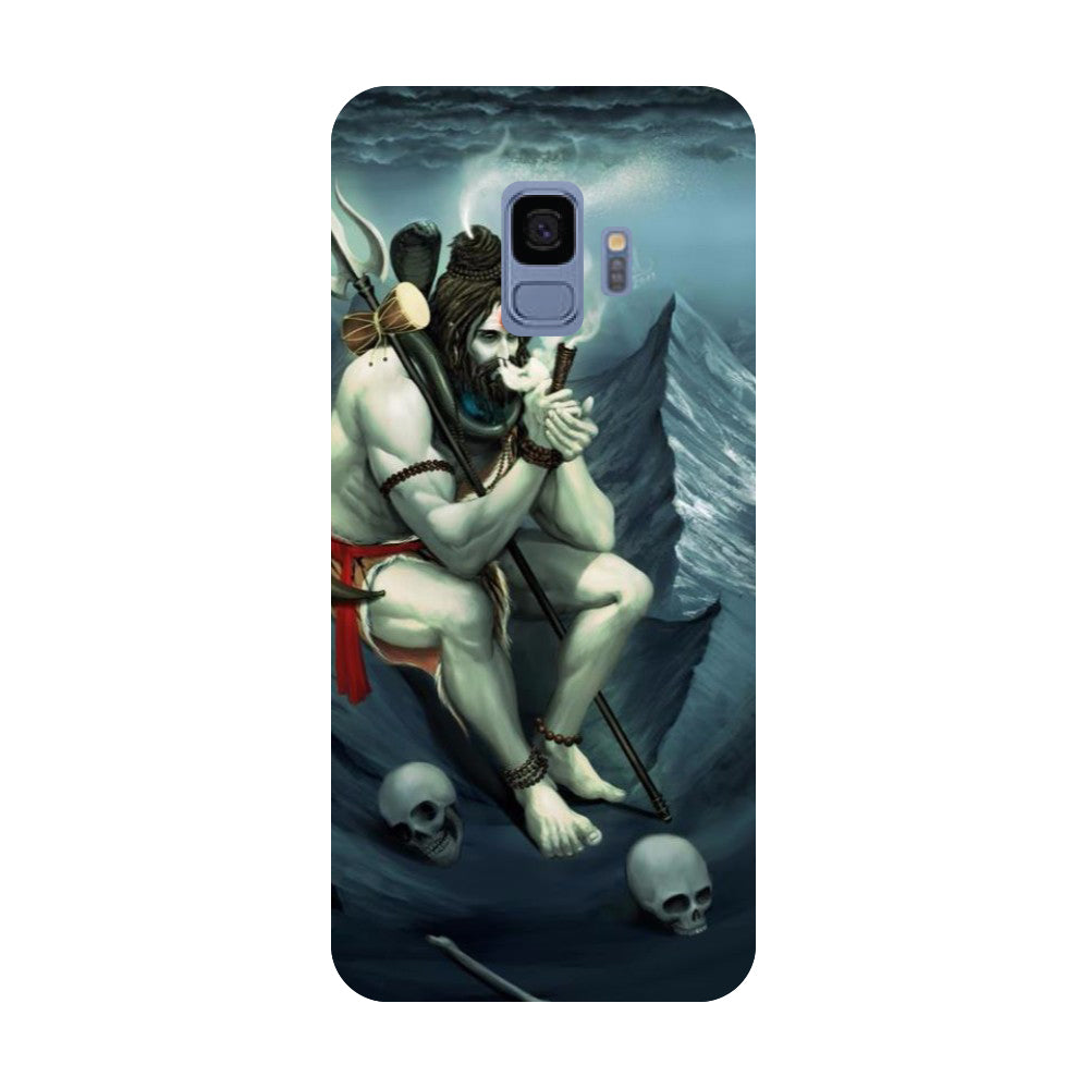 Aghori- Printed Hard Back Case Cover for Samsung Galaxy S9-Hamee India