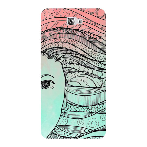 All Green - Printed Hard Back Case Cover for Samsung Galaxy On7 Prime