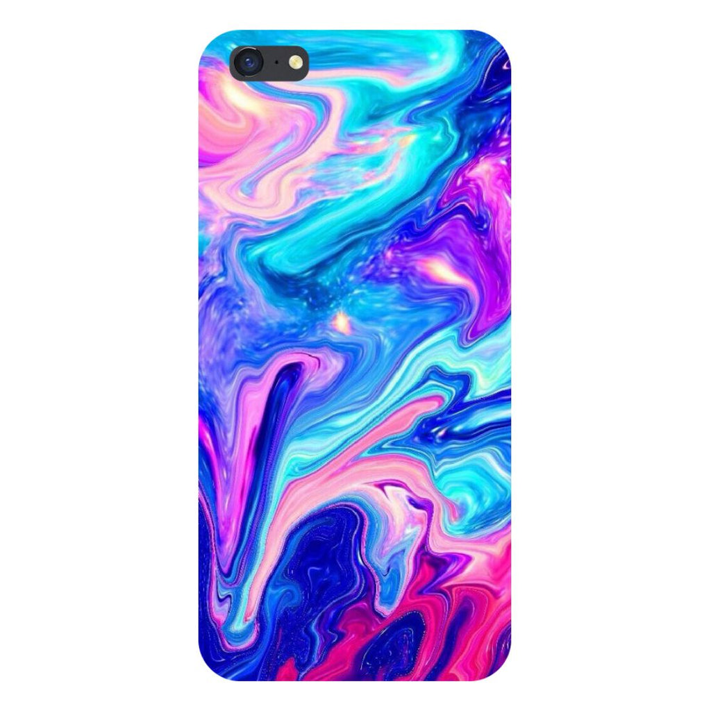Abstract paint- Printed Hard Back Case Cover for iPhone SE2-Hamee India