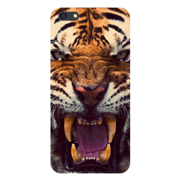 Tiger- Printed Hard Back Case Cover for iPhone SE2
