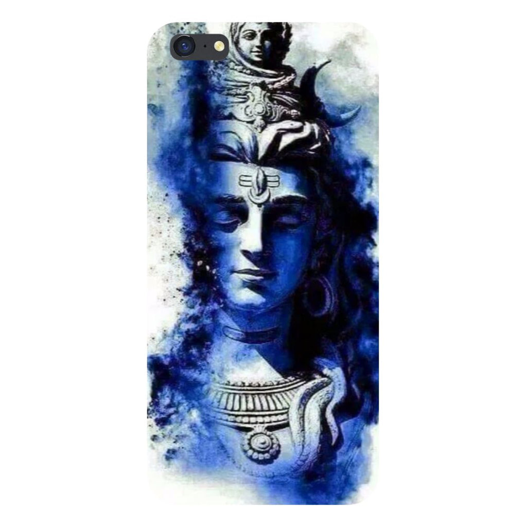 Blue shiva- Printed Hard Back Case Cover for iPhone SE2-Hamee India