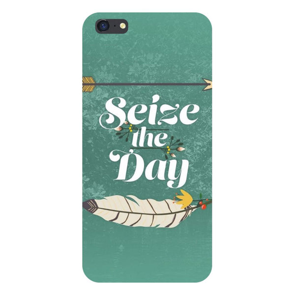 Seize the day- Printed Hard Back Case Cover for iPhone SE2