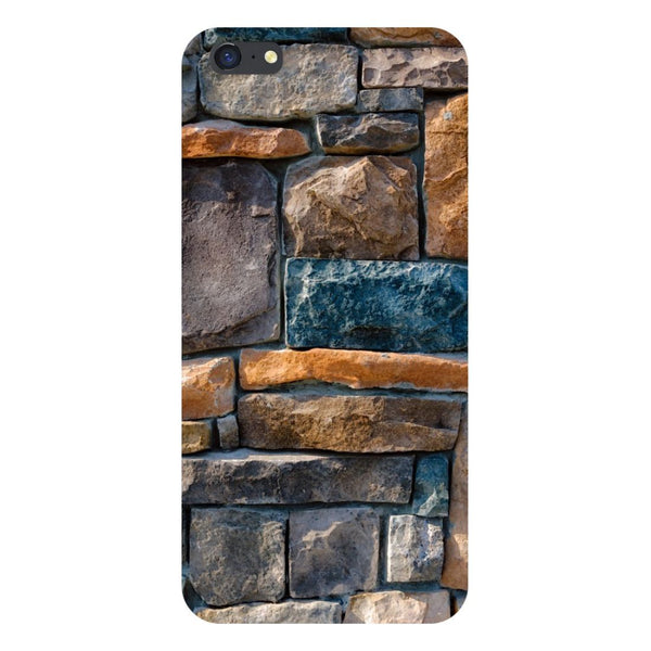 Stone Wall- Printed Hard Back Case Cover for iPhone SE2