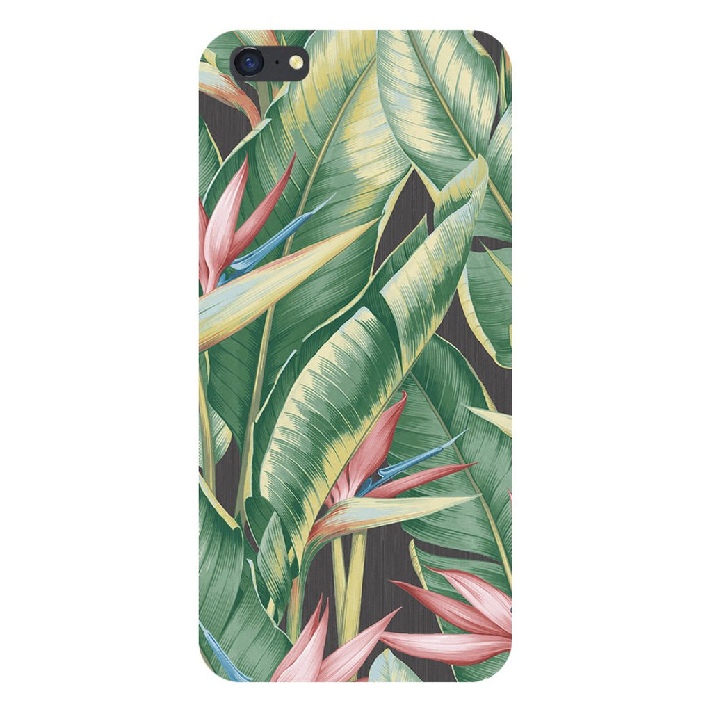 Leaf paintBack Cover for iPhone SE2-Hamee India