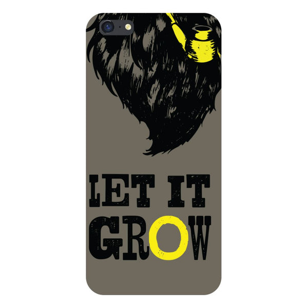 Let it grow- Printed Hard Back Case Cover for iPhone SE2