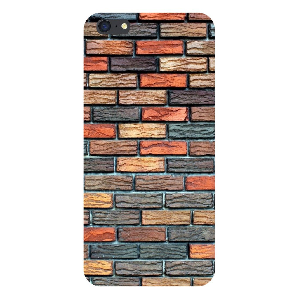Brick wall- Printed Hard Back Case Cover for iPhone SE2-Hamee India