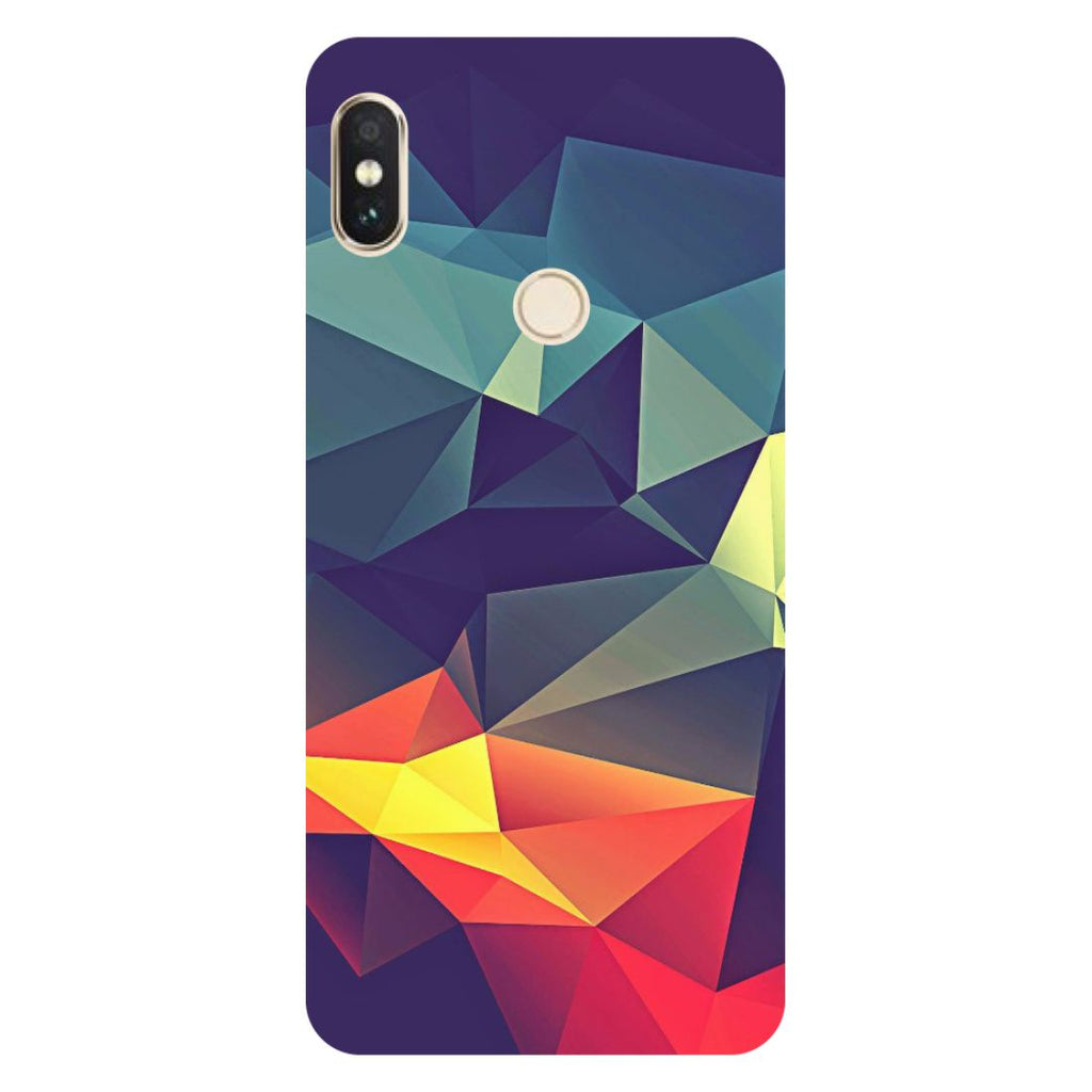 Abstract Mi A2 Back Cover-Hamee India