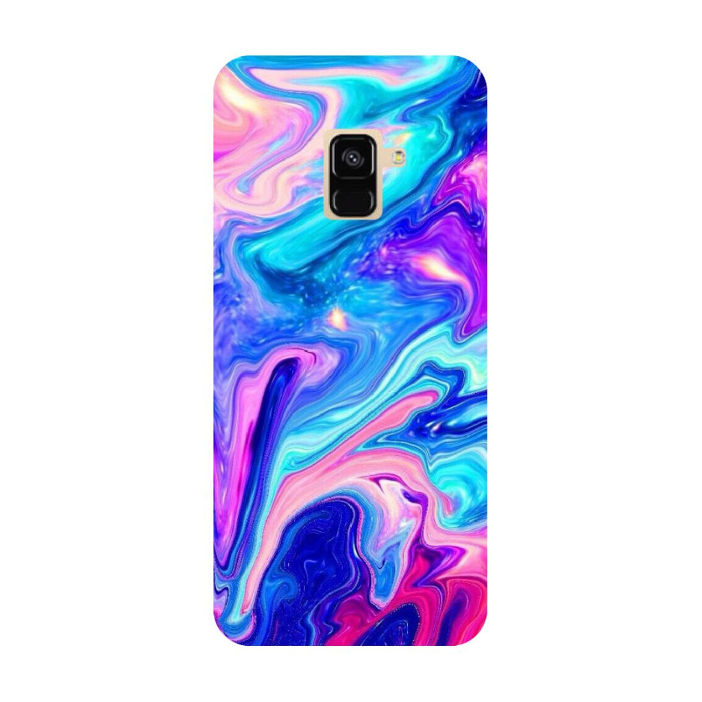 Abstract paint- Printed Hard Back Case Cover for Samsung Galaxy A6 (2018)