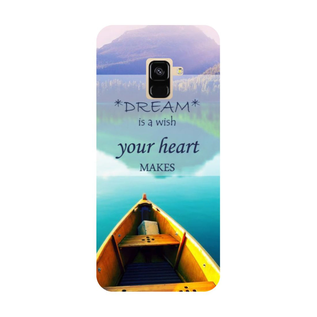 Boat- Printed Hard Back Case Cover for Samsung Galaxy A6 (2018)-Hamee India