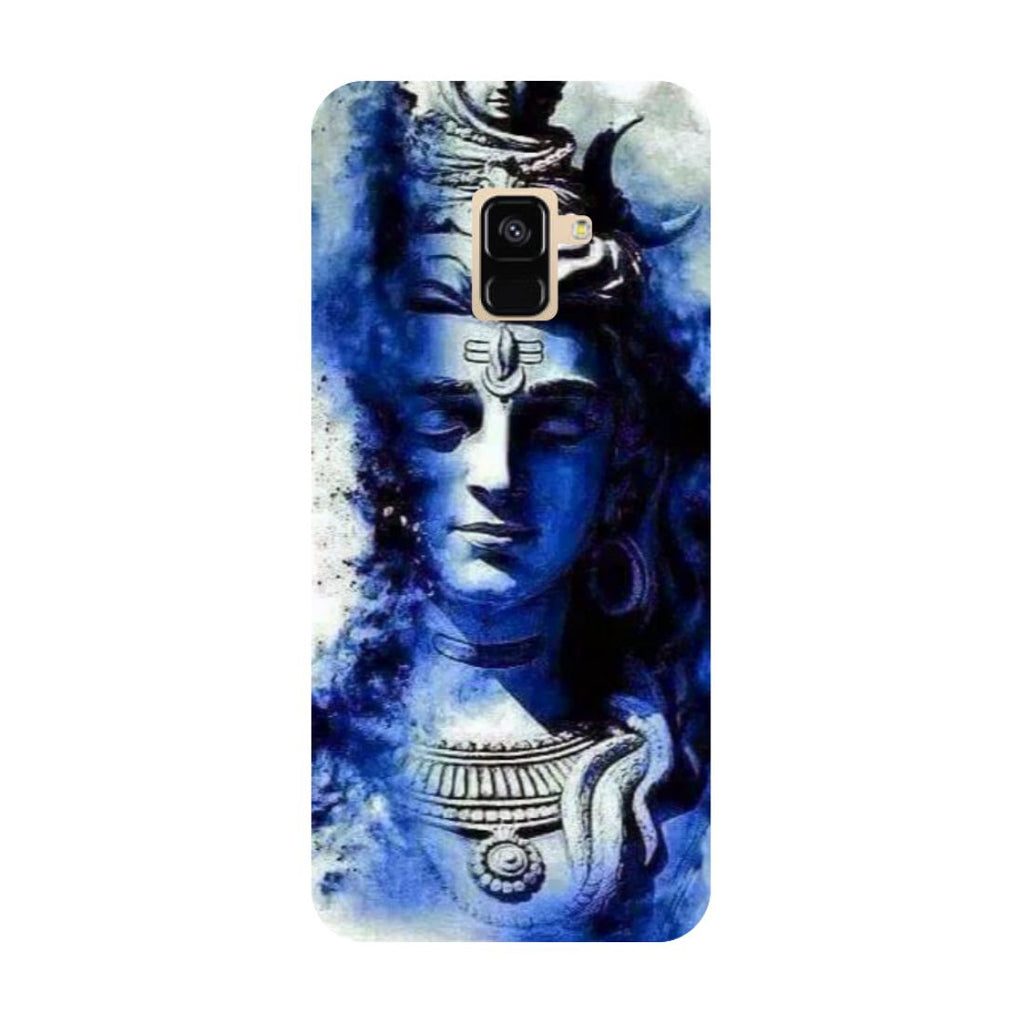 Blue shiva- Printed Hard Back Case Cover for Samsung Galaxy A6 (2018)-Hamee India