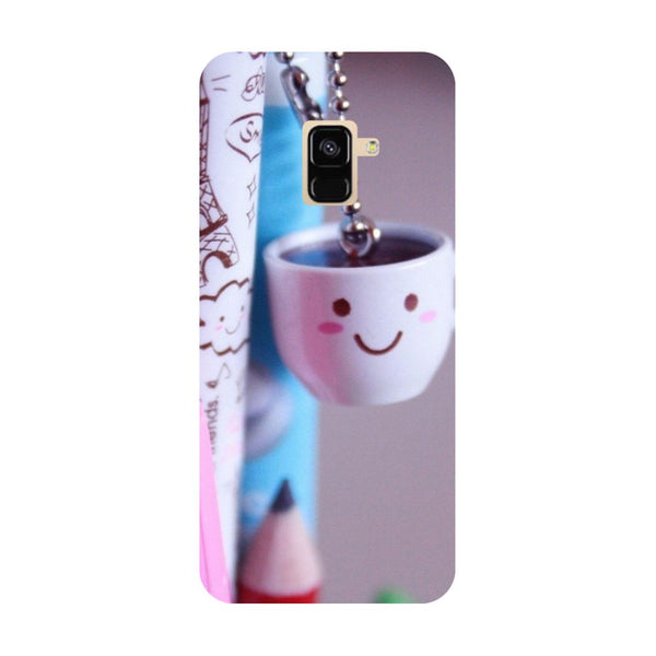 Cup- Printed Hard Back Case Cover for Samsung Galaxy A6 (2018)-Hamee India