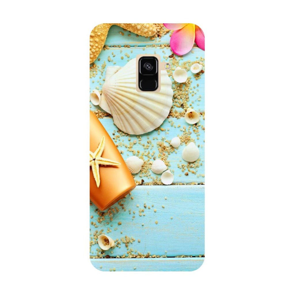 Shells- Printed Hard Back Case Cover for Samsung Galaxy A6 (2018)-Hamee India