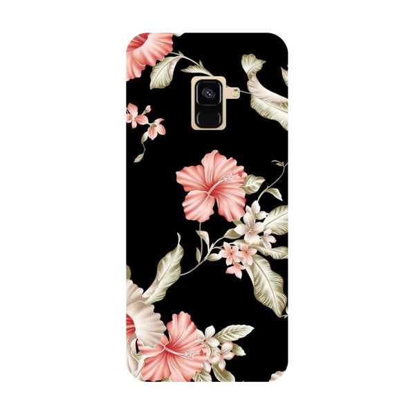 Flowers- Printed Hard Back Case Cover for Samsung Galaxy A6 (2018)-Hamee India