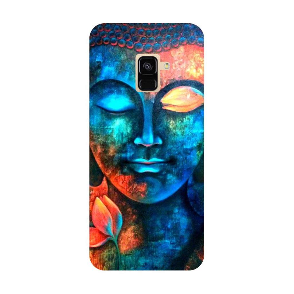 Buddha- Printed Hard Back Case Cover for Samsung Galaxy A6 (2018)-Hamee India